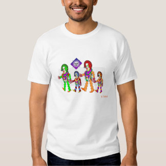 The Accordian Family Tee Shirt