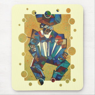The Accordian Player. Mouse Pad