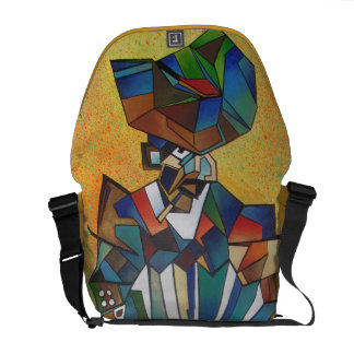 The Accordionist Courier Bag