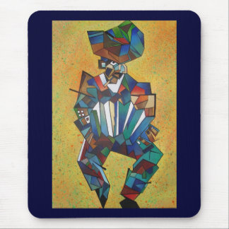 The Accordionist Mouse Pad