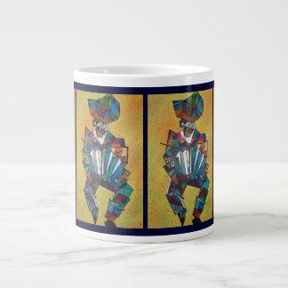 The Accordionist Jumbo Mugs
