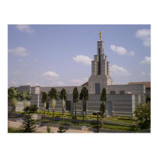 The Accra Ghana LDS Temple Postcard