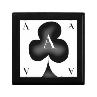 The Ace of Clubs by Tony Fernandes Jewelry Box