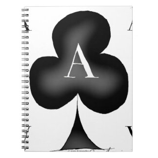 The Ace of Clubs by Tony Fernandes Notebook