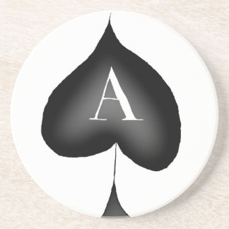 The Ace of Spades by Tony Fernandes Drink Coaster