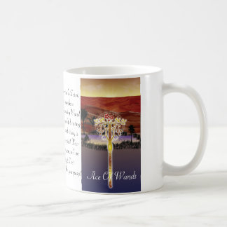 The Ace of Wands Cup Mug