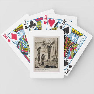 The achieving of the Sangreal, from 'Le Morte d'Ar Bicycle Playing Cards
