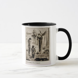 The achieving of the Sangreal, from 'Le Morte d'Ar Mug