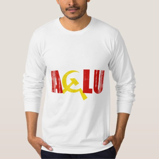The ACLU is communist Faded.png T Shirt