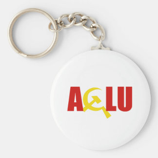 The ACLU is communist Key Chain