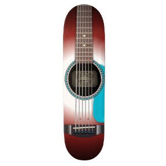 The Acoustic Skateboard Deck