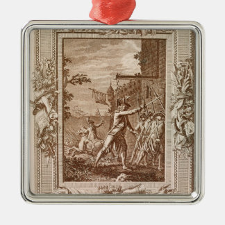 The Acquisition of Corsica in 1768 Metal Ornament