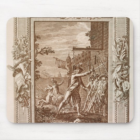 The Acquisition of Corsica in 1768 Mouse Pad