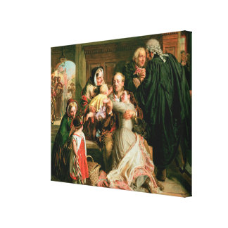 The Acquittal Canvas Print