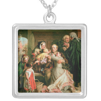The Acquittal Silver Plated Necklace