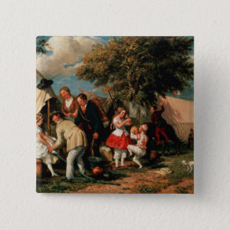 The Acrobats' Camp, Epsom Downs Pinback Button