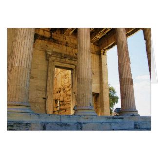 The Acropolis and the Parthenon - Athens Card
