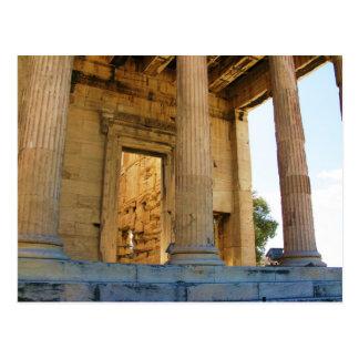 The Acropolis and the Parthenon - Athens Postcard