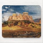 The Acropolis at Athens Greece Color Landscape Mousepad
