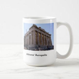 The Acropolis at Athens, Greece Classic White Coffee Mug