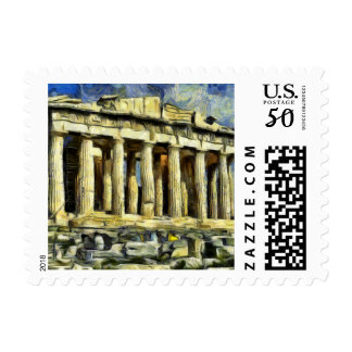 The Acropolis in Athens Postage