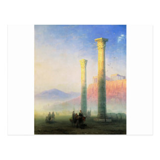 The Acropolis of Athens by Ivan Aivazovsky Postcard