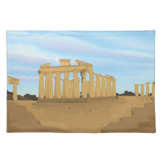 The Acropolis of Athens Cloth Placemat