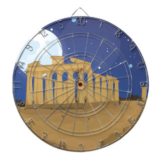 The Acropolis of Athens Dartboard