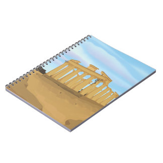 The Acropolis of Athens Spiral Notebook