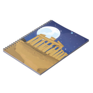 The Acropolis of Athens Spiral Notebooks