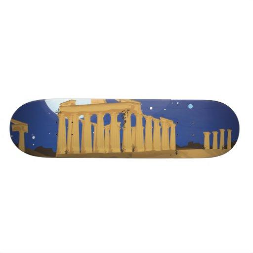 The Acropolis of Athens Skateboard