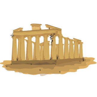 The Acropolis of Athens Standing Photo Sculpture