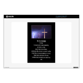 "The Act of Contrition Prayer.jpg 15"" Laptop Decal"