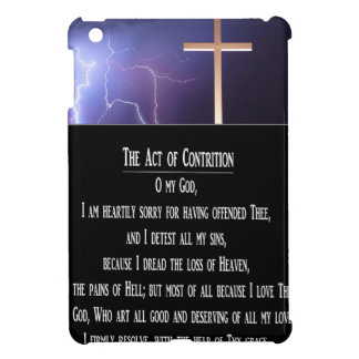 The Act of Contrition Prayer.jpg iPad Mini Covers