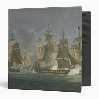 The Action Renewed by Night, off Madagascar, 20th 3 Ring Binder