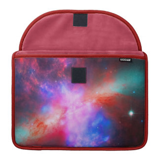 The Active Cigar Galaxy - Messier 82 Sleeves For MacBooks