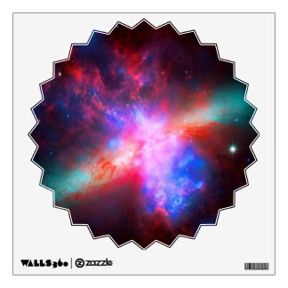 The Active Cigar Galaxy - Messier 82 Wall Decal