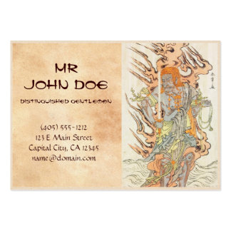 The Actor Ichikawa Danjuro V as a Stone Image Large Business Cards (Pack Of 100)