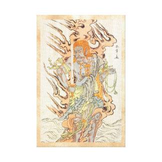 The Actor Ichikawa Danjuro V as a Stone Image Canvas Prints