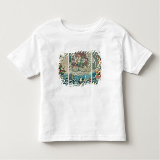The actor Ichikawa Ebizo V as the deity Fudo Myoo Toddler T-shirt