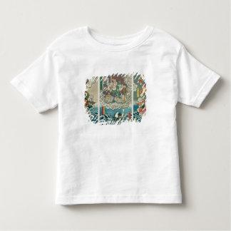 The actor Ichikawa Ebizo V as the deity Fudo Myoo Toddler T-shirt