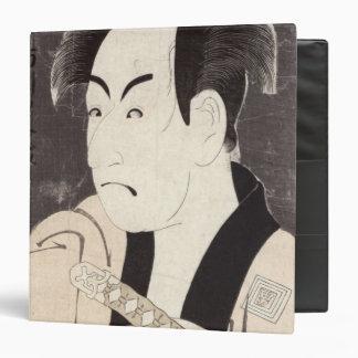 The actor Ichikawa Omezu as a servant 3 Ring Binder