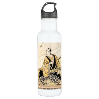The Actor Matsumoto Koshiro IV Seated  Outer Room Stainless Steel Water Bottle