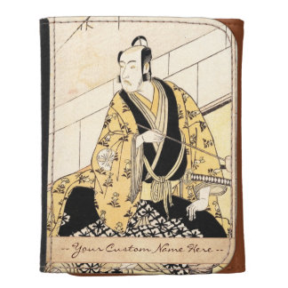 The Actor Matsumoto Koshiro IV Seated Outer Room Trifold Wallet