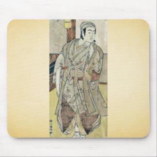 The actor Sawamura Sojuro III by Katsukawa, Shunko Mousepad