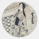 The actor Yamashita Kyōnosuke by Torii, Kiyotsune Stickers