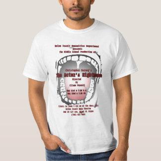The Actor's Nightmare t-shirt