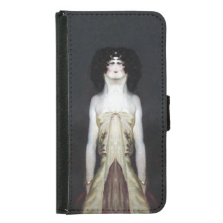 The Actress Wallet Phone Case For Samsung Galaxy S5