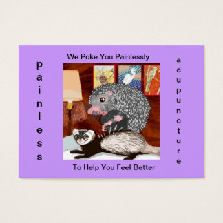 The Acupuncturist Business Card