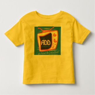 The ADD Channel and The Virtual Zone Episodes Toddler T-shirt